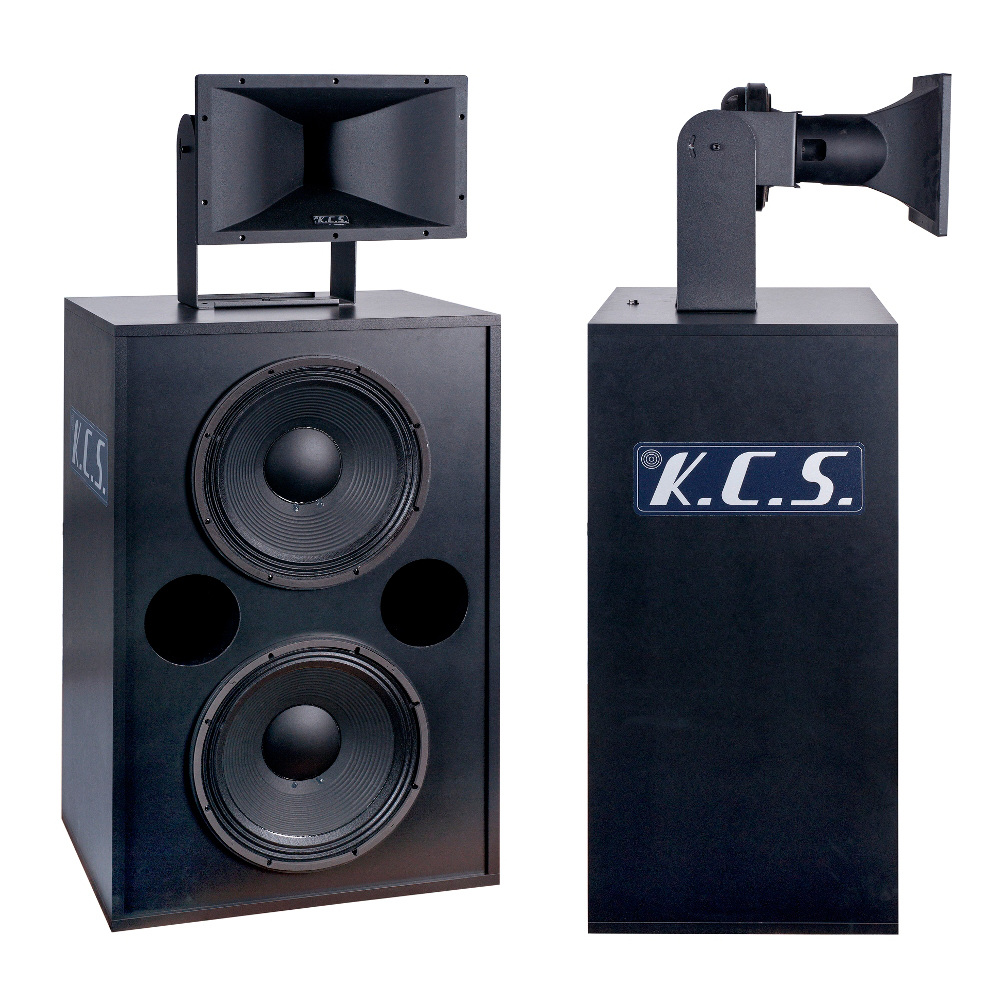 BI-AMPLIFIED 2-WAY SPEAKER KCS S-2501_SP-2